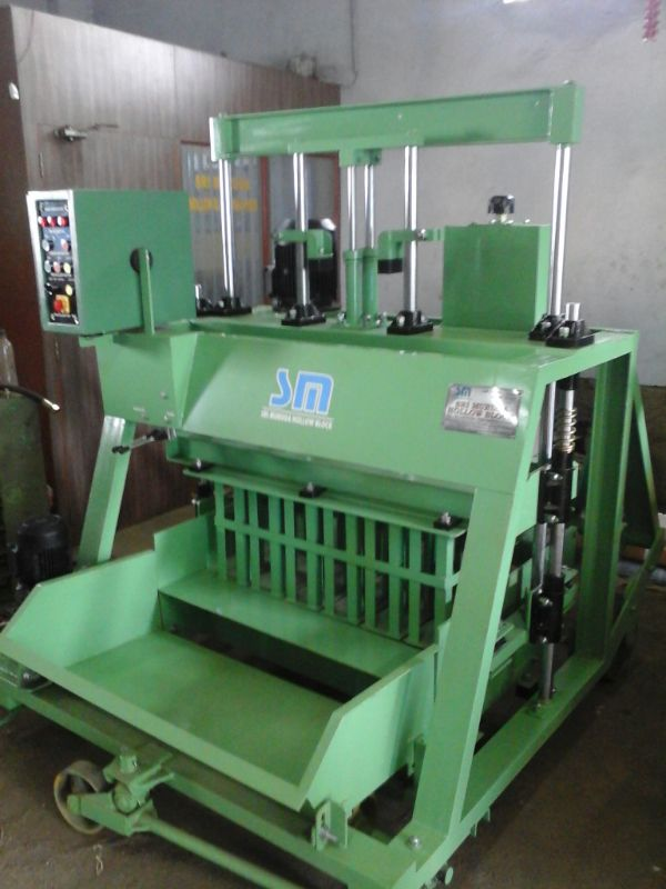 """Solid Block Making Machine"""